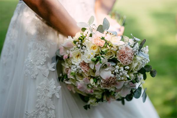 boeket zacht lief trouwen