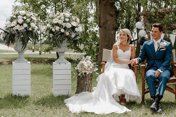 Bruids bloemen nely de bruin