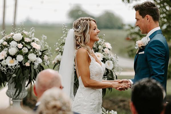 Zomerse bruiloft bloemen
